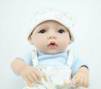 Wholesale 50pcs Inch Reborn Silicone Babies Dolls Sleeping Bebe Reborn Dolls For boys Fashion Doll Toys Brinquedos
