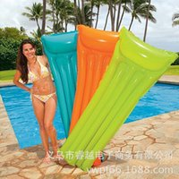 Wholesale Outdoor Aerify Water Hammock Floating Sleeping Bed Anti skidding Swimming Bed Relax Water Floating Air Mattresses Inflatable Floats Tubes