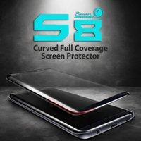 For Samsung For Samsung S7 edge Mirror For Samsung Galaxy S8 Plus Tempered Glass Screen Protector Exact Design S8 Full Screen Coverage 3D Curved Edge Anti-Scratch, Bubble Free