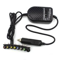 Wholesale Universal DC W Car Auto Charger Power Supply Adapter Set For Laptop Notebook with detachable plugs