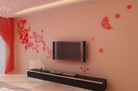 Wholesale Home decoration products personality environmental acrylic wall stickers Post it note free stickers