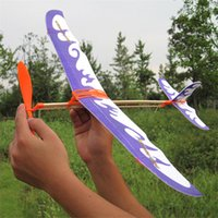 Wholesale Diy Rubber Band Powered Aircraft Helicopter Model