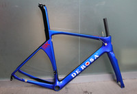 Wholesale de rosa sk carbon road bike frame bicycle frame size cm super light carbon frame