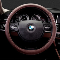 Wholesale hot sale car interior accessories high quality cm all seasons Microfiber leather car Steering wheel cover