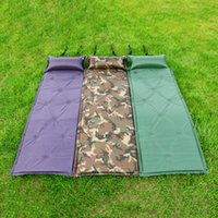 Wholesale Outdoor Pads Automatic Inflatable Cushion Indoor Nap Pad Camping Tent Mat Moisture proof Mats Individual Can Be Spliced jt