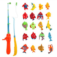 Wholesale New Comes Hot Sale Fish Kids Magnetic Magnet Fishing Kid Children Eearly Educational Toy