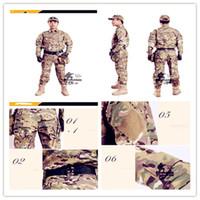 Wholesale CP camouflage reality CS field battle dress characteristic suits forces combat uniform team jerseys
