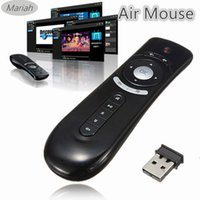 android stick computer - G Wireless Gyroscope Fly Air Mouse T2 Mice Android Remote Controller D Motion Stick Combo Computer Peripheral