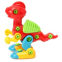 best dinosaur games - Unisex Disassembly Dinosaur Design Model Educational Development Toy Puzzle Best DIY Gift For Kids Jigsaw Game With Tool