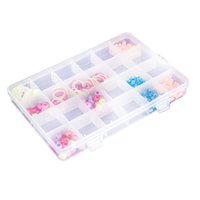 alps electronics - Adjustable Plastic Packaging Electronics SMT SMD Storage Box Compartment Plastic Box Case Bead Rings Jewelry Display Organizer