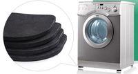 Square bathroom textiles - Fashion Hot Washing machine shock pads Non slip mats Refrigerator Anti vibration pad set