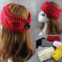 Cheap Headbands Women Crochet Headband Best 7 colors fashion Knit Hairband