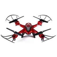 Vente en gros-2016 Dron plus récents drones professionnels SJ X300 - 2CW 2.4GHz 4CH RC Quadcopter Drone WIFI Transmission en temps réel avec 0.3MP Camera