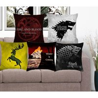 adult memory games - Cushion Cover Game Of Thrones Polyester Pillowcase Sofa Home Decorative Throw Pillow Funda Cojin Housse de coussin