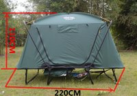 Wholesale Heightening The house from the ground fishing single tents car camping thermal wind rain multi function folding tent