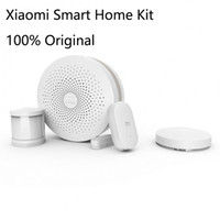 Wholesale Original Xiaomi Smart Home Suite Gateway Alarm Door Window Sensor Human Body Sensor Wireless Switch Smart Home Kit Sets