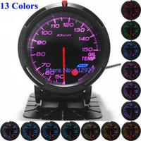 Wholesale Colors Back Light Display mm Defi Advanced BF Oil Temp Meter Gauge for Racing Car
