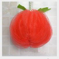 Wholesale OT Colorful pumpkin style cute Bath Ball Bath Sponge Balls Children Sponges Bath Balls DHL