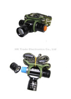 Wholesale MINI Army Headlamp CREE Q5 LED Lumen AA Battery Zoomable Headlight Bike Bicycle Light headlamp