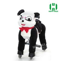 Wholesale HI CE Outgoing Groundplay mechanical ride on horse walking ride on horse for kids Birthday gifts New Year Gilf HOT sales