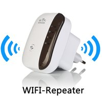 al por mayor wi fi gama de refuerzo-Amplificador de la señal del repetidor de WiFi WiFi 802.11N / B / G Gama Wi-fi Extander 300Mbps Reforzador de la señal Repetidor Wifi Wps Cifrado