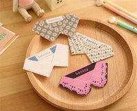 Wholesale 100pcs korean stationery cm Creative Stationery PVC Collar Bookmarks
