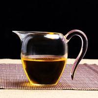 Wholesale Sharing Pot heat resistant justice cup kungfu fair mug safty glass Chi hai