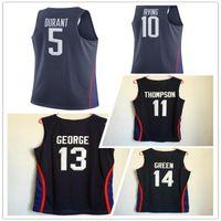 Wholesale 2016 Dream Team USA Basketball Jerseys Kevin Durant Kyrie Irving Jersey Kawhi Leonard Kyle Lowry DeMar DeRozan Anthony