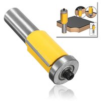 bear woodworking - 1 Inch Shank Flush Trim Router Bit With End Bearing Woodworking Cutter