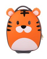 animal trolley bag - Christmas Gift for Children BB BAG Children s Trolley Cabin Bag EVA Creative Design Suitcase Unisex Wheeled Bags School Bag Cute Luggage