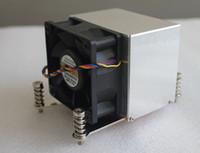 Wholesale Rectangle radiator cpu radiator fan with fan u computer case