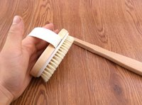 Wholesale Bath brush wooden bath wood high quality