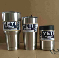Wholesale YETI Vacuum cup Stainless Tumbler oz oz oz Cups for Yeti Coolers Cup Sports Mugs Large Capacity Stainless Steel Mug