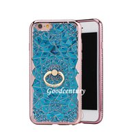 rhinestone cell phone cover - Cell Case Glitter Diamond iPhone Mobile Case Phone Cover with Ring Holder for iPhone s s s Plus Plus