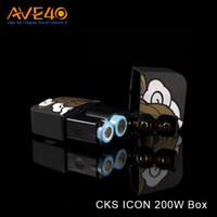battery icon - Authentic CKS ICON W Box Mod Bypass Mode Temp Mode with Dual Battery VS w Dagger Mod