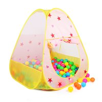 baby rock stars - Finger Rock Portable Children Outdoor House Tent Star Dot Toy Tent CM Color Baby Folding Play Tent