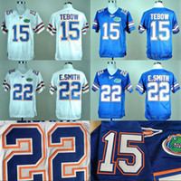 Wholesale Florida Gators College Jersey Tim Tebow Emmitt Smith Men s Stitched Embroidery Logos Throwback Jerseys S XL