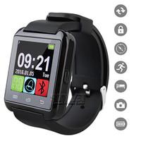 Bluetooth Smartwatch U8 Montre Montre Pour iPhone 5 iPhone 6S Samsung Note 2 Note 3 Android Téléphone Smartphones En Retail Box