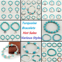 Bohemian beautiful turquoise - Handmade Natural Turquoise Bracelet Newest Jewelry Bracelet Ethnic Style Jewelry Very Beautiful Gift High Quality