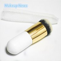bb news - News Makeup Brush Explosion Models Chubby Pier Foundation Brush Flat The Portable BB Cream Makeup Brushes