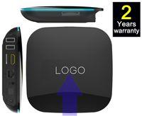 android tv box dual hdmi - 10pcs Custom Made Qbox2gb gb Google Android Smart IPTV TV box OTT boxes Amlogic S905 S905X G G dual channel Wifi Bluetooth