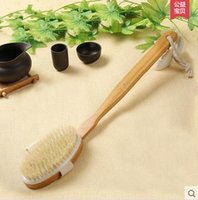 Cheap Kang Hui one beautiful long handle rub mud bath brush bristle fur bath brush rubbing brush short shank rub back rub zao towel