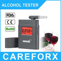 Wholesale Driving Essentials Prefessional Parking Detector Gadget AT Digital Breath Alcohol Tester Breathalyzer with Backlight