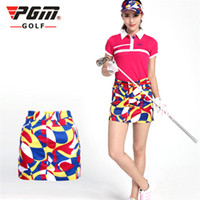 Wholesale PGM Brand Golf Clothing Lady s Golf Skirt Pant Women Leisure Fashion Sport Printing Short Skirt Golf Dress XS XL