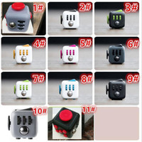 Wholesale Fidget cube cm color Newest the world s first American decompression anxiety Toys via DHL