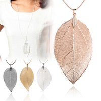 Cheap Pendant Necklaces leaf necklace Best Mexican Women's necklace