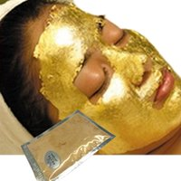 Wholesale K GOLD Active Face Mask Powder Brightening Luxury Spa Anti Aging Wrinkle Treatment Facial Mask g