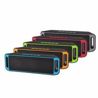 Wholesale SC Portable Bluetooth Wireless Speaker Sport Mini Stereo HIFI FM Radio MP3 Music Player For Mobile Phones