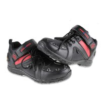 best bike shoes - NEW SPEED BIKERS Motorcycle Dirt Bike Moto Racing Leather Boots Motocross Motorbike Shoes for boy friend best gifts