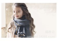 Wholesale Korean version of autumn and winter cashmere children scarf new boys and girls warm collar manufacturers